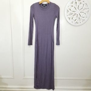 Lulus size S maxi dress with pockets
